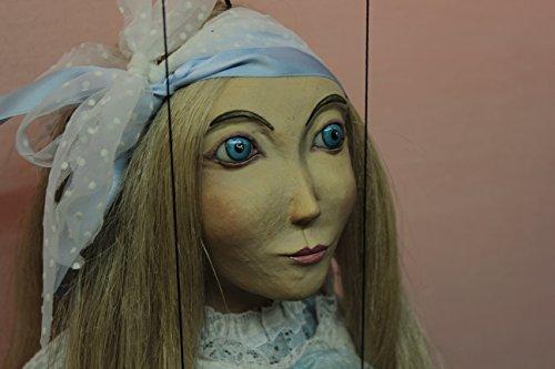 marionette Alicia marioneta puppet OOAK artdoll títere