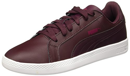 Puma Smash Wns L Chaussures Femme Baskets Bordeaux Winetasting-Winetasting