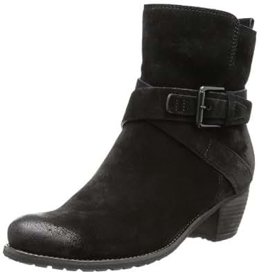 Kennel und Schmenger Schuhmanufaktur Ambra, Damen Kurzschaft Stiefel, Schwarz (schwarz), 42.5 EU (8.5 Damen UK)