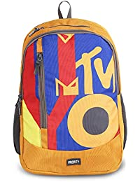 b3ab5ac2656 Priority Harmony MTV 32 LTR Mustard Casual School | College Backpack Bag