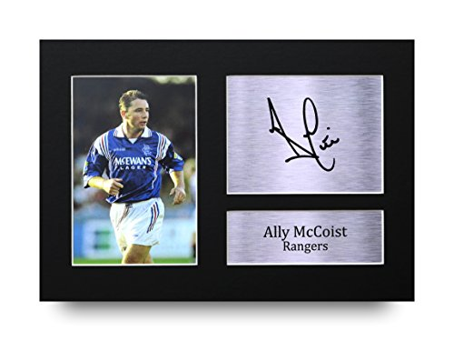 Ally-McCoist-Signed-A4-Printed-Autograph-Rangers-Print-Photo-Picture-Display-Great-Gift-Idea
