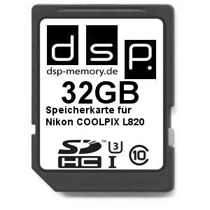 dsp-memory-z-select-4051557427587-32-gb-ultra-high-speed-scheda-di-memoria-per-nikon-coolpix-l820-fo