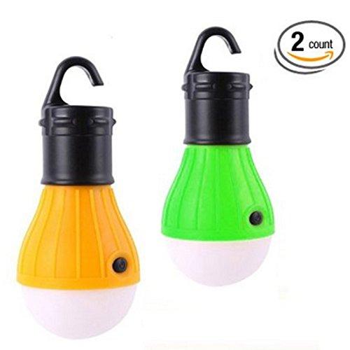 Lámpara led portátil para exterior e interior para senderismo, acampada, emergencias (pack...