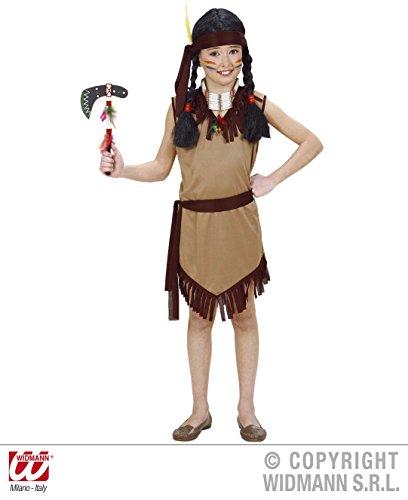 KINDERKOSTÜM - INDIANERIN - Größe 158 , Cowboy Indianer Wilder Westen Squaw Mädchen Girl (Cowboy Kostüm Für Baby Mädchen)