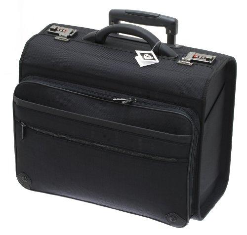 Pilot case trolley Davidt s reference D259305 couleur 01 - Black