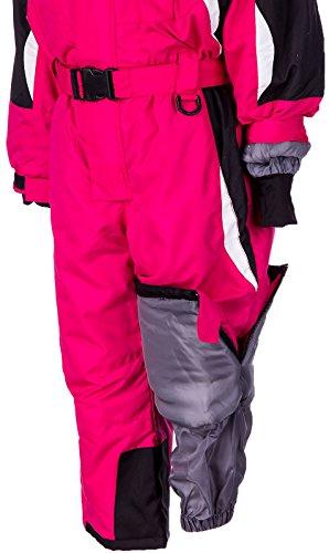 Skianzug Kinder Schneeanzug Jungen Mädchen Unisex Winteranzug Snowboard Winter | MQY-17 - 5