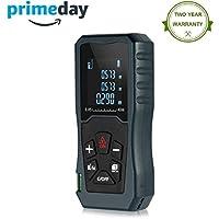 Laser Distance Mesureur Télémètre laser Mètre numérique portable Outil de mesure Range Finder Mètre à ruban