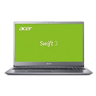 Acer Swift 3 SF315-52G-8376 39,6cm (15,6 Ultra-HD IPS matt) Ultrabook (Intel Core i7-8550U, 16GB RAM, 512GB SSD und 1000GB HDD, NVIDIA GeForce MX150 (2GB VRAM), Win 10) silber