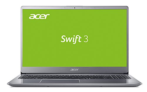 Acer Swift 3 (Sf315-52g-80p0) 39,6 Cm (15,6 Zoll Ultra-hd Ips Matt) Ultrabook (Intel Core I7-8550u, 16gb Ram, 1.000gb Hdd, 512gb Pcie Ssd, Nvidia Geforce Mx150, Win 10 Home) Silber