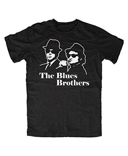 Blues Brothers T-Shirt (XL, Schwarz) -