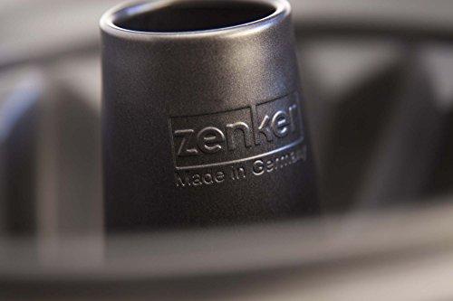 Zenker 6527 Gugelhupfform Ø 25 cm, black metallic - 3