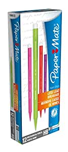 Paper Mate Non Stop Mechanical Pencil HB 0.7mm - Assorted Colours (Box of 12)