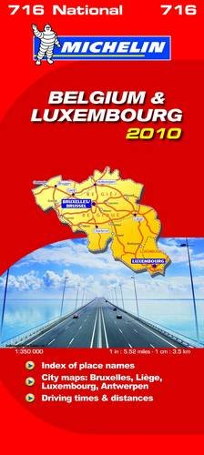Belgium and Luxembourg 2010 2010 par Michelin