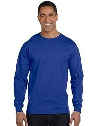 Hanes BEEFY-T Men`s Long-Sleeve T-Shirt