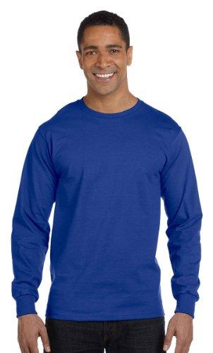 The Elevators auf American Apparel Fine Jersey Shirt Dunkles Königsblau