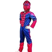 7fbaa4f428120 Lovelegis Tamaño M - 5-6 años - Traje de superhéroe - Busto muscoloso -