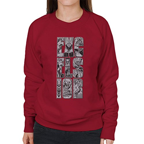 Marvel Excelsior Women's Sweatshirt Cherry Red