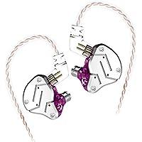 Shuzhen,Auricular de reducción de Ruido de Cable(Color:Violeta Morada,Size:con micrófono)