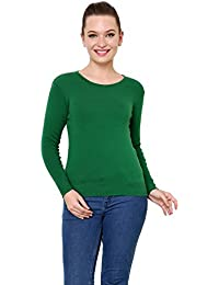 4054fae3cfd Greens Women s Sweaters  Buy Greens Women s Sweaters online at best ...