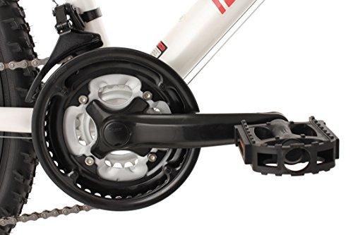 KS Cycling Fahrrad Mountainbike Hardtail Carnivore RH, Weiß, 26 Zoll, 540M