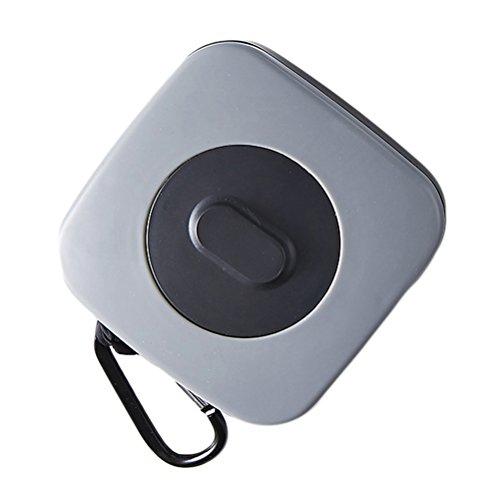 OUNONA Portable Swivel-Folding Aufbewahrungskoffer mit Nylon-Einkaufstaschen wiederverwendbare Schultertasche (Rechteck-Taste) (Nylon Wiederverwendbare Einkaufstaschen)