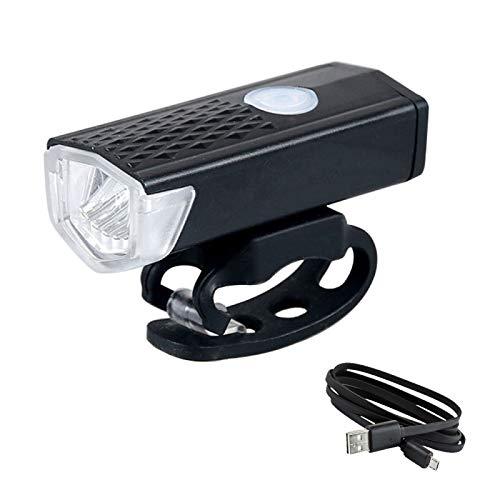 XINGXINGFAN Fahrradbeleuchtung, Wiederaufladbare USB-Fahrradlampe mit 300 Lumen Und Superhellem Licht, Led-Scheinwerfer Vorne, Passend für Lenker mit 20-40 Mm Durchmesser