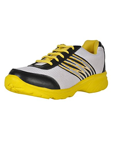 Yepme Men's Multi-Coloured Sports Shoes Mesh YPMFOOT8708_6 UK  available at amazon for Rs.399