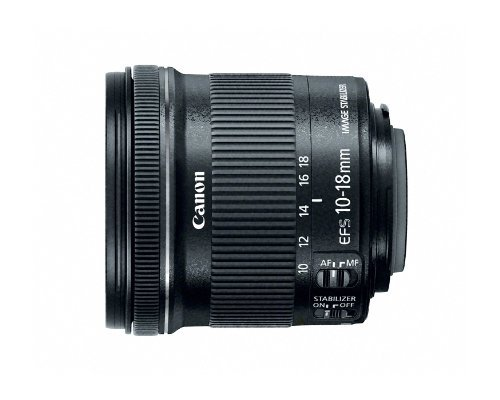 Canon EF-S Objectif 10 18 mm f/4,5 5,6 IS STM
