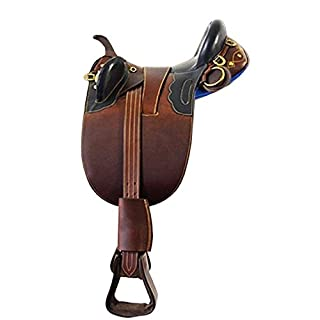 Campale Melbourne Real Leather Stock Saddle