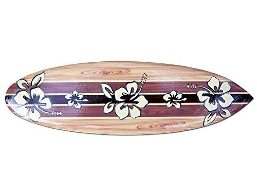 Seestern Sportswear Deko Holz Surfboard 50,80 oder 100 cm Airbrush Design Surfing Surfen Wellenreiten Surf /1861 50 cm