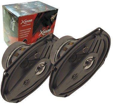 XSOUND Paar Auto Lautsprecher 16,5cm (6,5 Zoll) 2x140W -