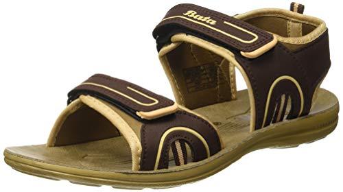BATA Men's Pu Step Sandals