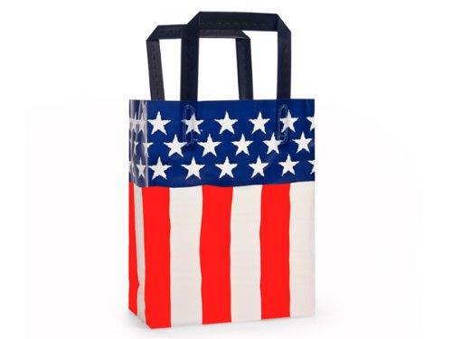 cub-american-flag-frostedplastic-bags-bulk-4-mil-8-x-4-x-10