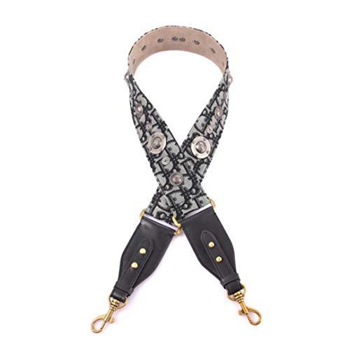 Canvas Women Bag Strap Vintage Handle for Lady Shoulder Strap Easy Matching Bags Belts for Female Bolsa Parts Q0222 18 -
