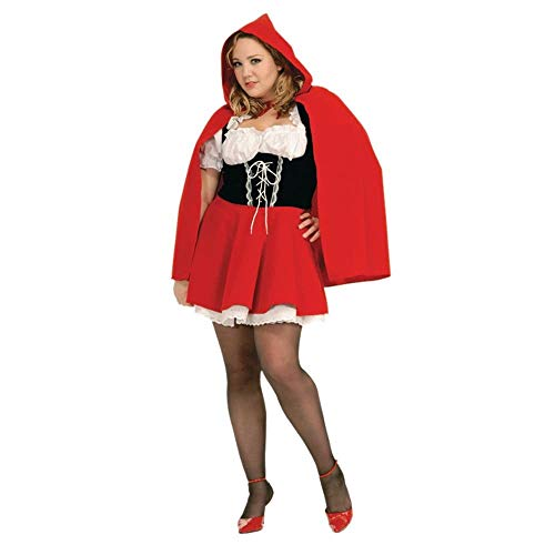 Forum Novelties Red Riding Hood Kostüm sexy Plus Size (Red Riding Hood Kostüm Plus)