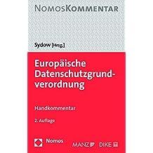 Europäische Datenschutzgrundverordnung: Handkommentar