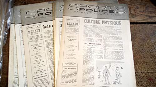 Sports police magazine 1962 - année complète 12 numéros par collectif