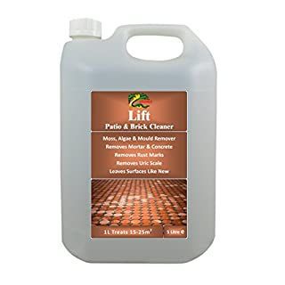 Mould Algae & Moss Remover - 5L HYDRA LIFT Cleans Tarmac, Concrete, Brick and Wood