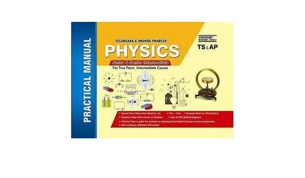 amazon in buy physics lab manual vikram series book online at low rh amazon in Practical Alternative to Chemistry Practical Alternative to Chemistry