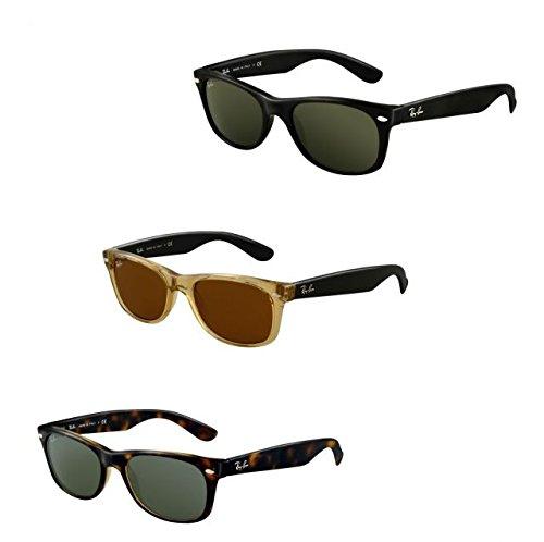 Ray-Ban NUEVO CAMINANTE Negro   Transparente Verde polarizado Classic G-15  Gafas de 7a0993e5e837