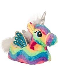Girls Nifty Kids 3D Novelty Unicorn Slippers