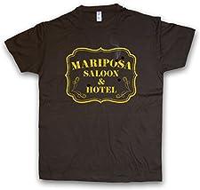 Urban Backwoods MARIPOSA SALOON & HOTEL T-SHIRT – Tamaños S – 5XL