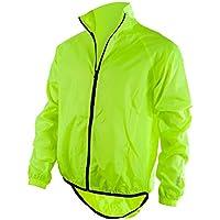 O' Neal Breeze Giacca impermeabile Neon giallo Hi Viz compatto traspirante Enduro MX Motocross MTB, 1106–50, M