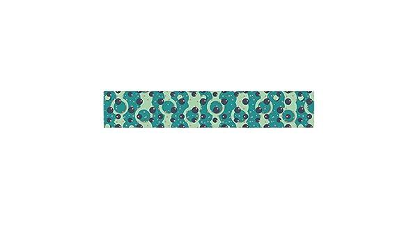 16 x 180 KESS InHouse Akwaflorell Bubbles Made of Paper Table Runner