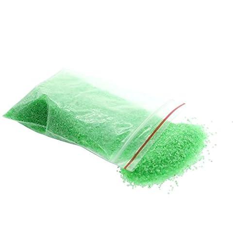 MMRM 1Paquet Miniature Gravier Sable Coloré Plage de Sable Paysage Décoration Vert