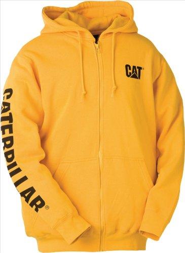 caterpillar-w10840-herren-kapuzenjacke-kapuzensweater-mit-reissverschluss-l-gelb