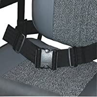 WHEELCHAIR SEAT BELT - Wheelchair safety lap strap - Style 2 by Kozee Komforts