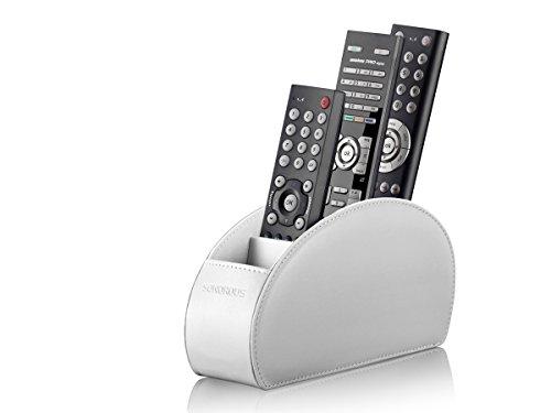 Sonorous Luxury- Supporto per telecomando, bianco