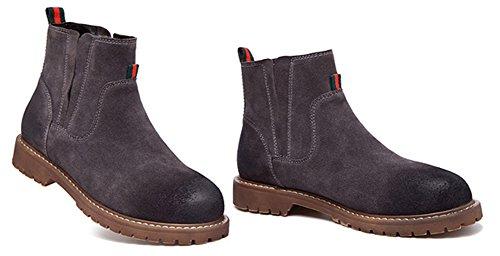 Fangsto  Boots, Bottes Chelsea fille femme Gris