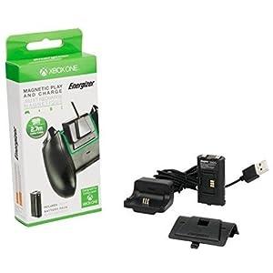 PDP Energizer Xbox One Play & Charge magnetisches Ladegerät mit wiederaufladbarem Akku für einen kabellosen Controller Ladekit, 048-030-EU